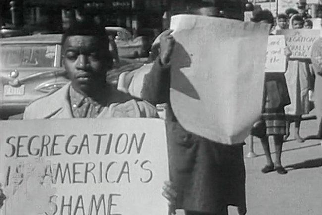 Segregation is America's Shame Protest in Rock Hill