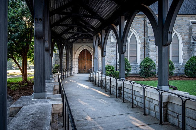 First Presbyterian of Clinton Walkway