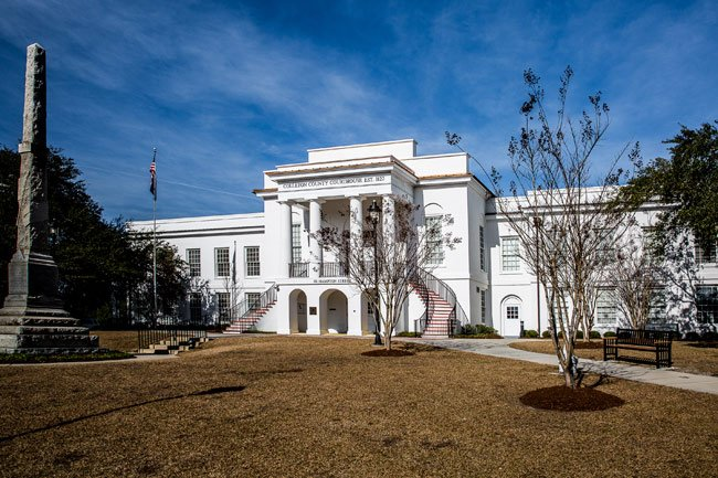 Colleton County Courthouse Monument