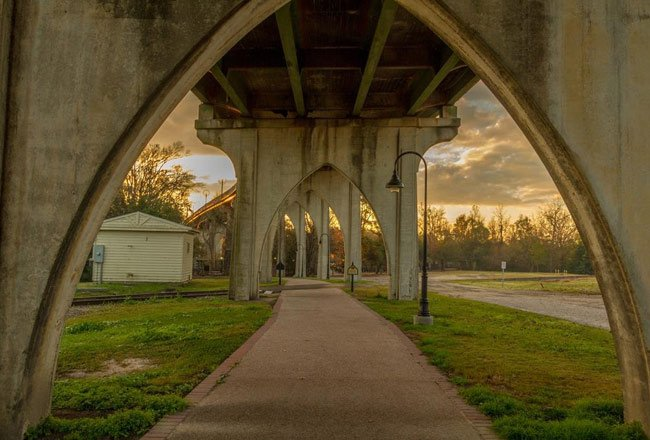 Conway Riverwalk Arches