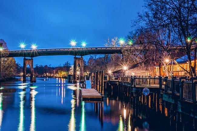 North Carolina River Towns