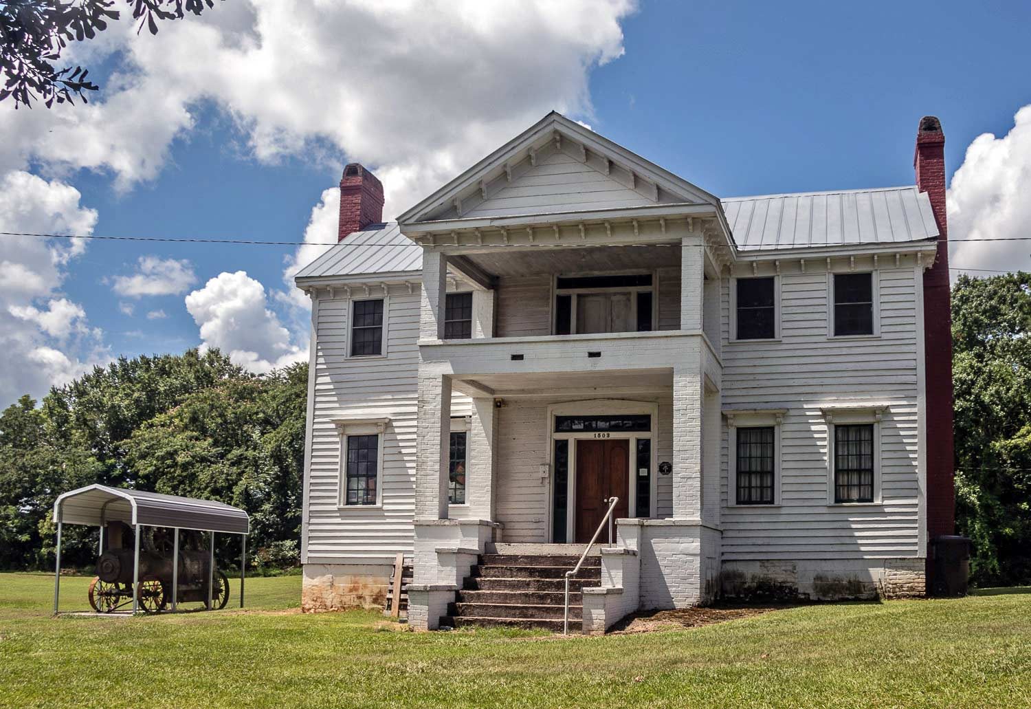 Coppack House in Newberry, South Carolina