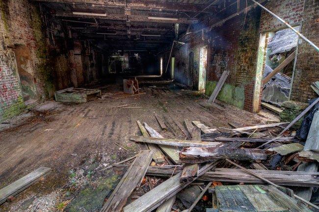 Courtenay Mill Interior