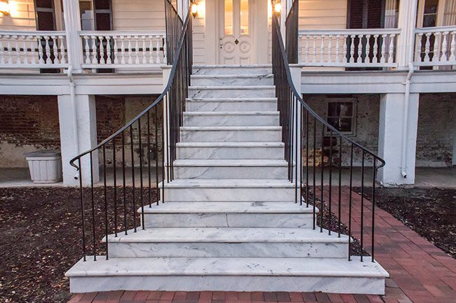 Daniel Cannon House Entry Stairs