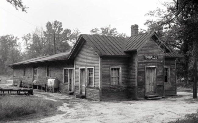 Donalds Southern Depot Historic