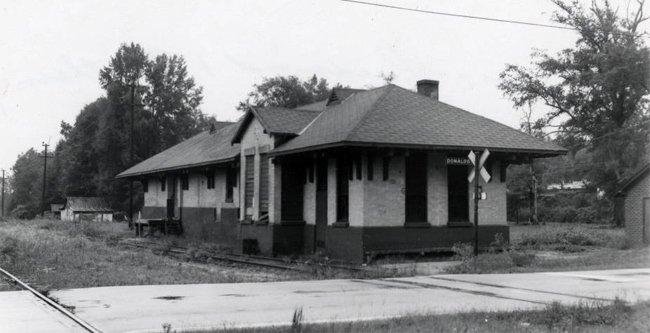 Donalds Station Historic