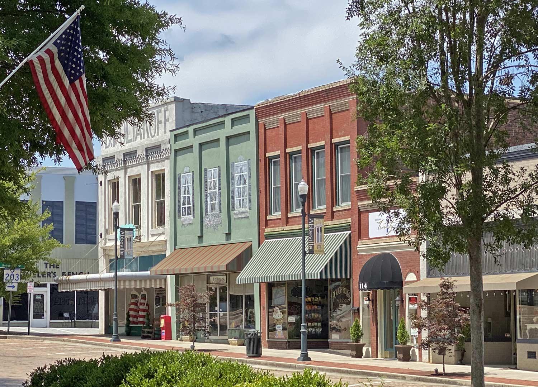 Downtown Abbeville Shops