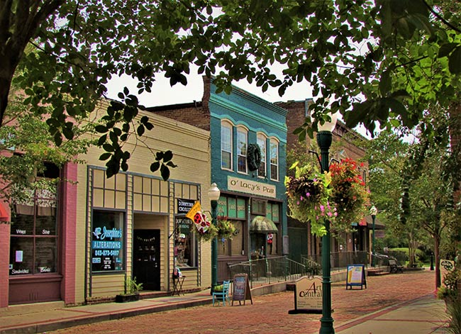 Downtown Summerville Alley