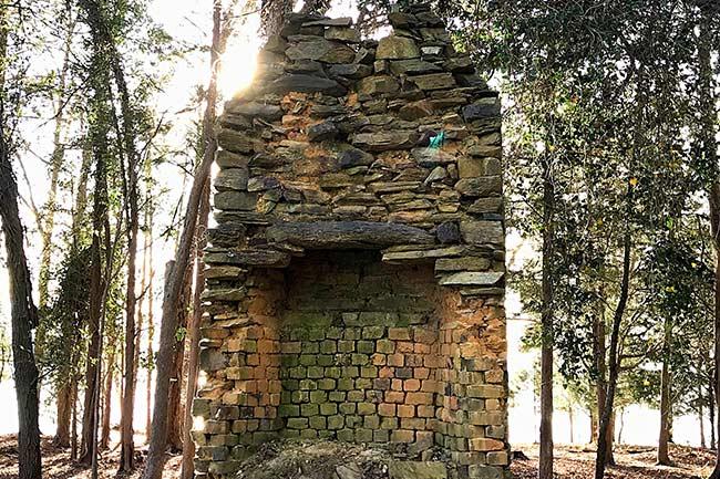 Dreher Island Homesite Chimney