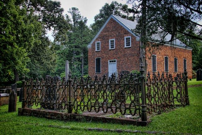 Ebenezer Brick Church Jenkinsville