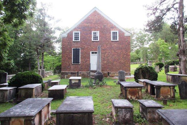 Ebenezer Church Jenkinsville Rear
