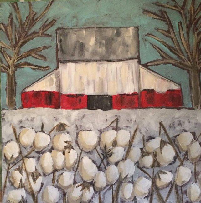 Edgefield Barn Painting
