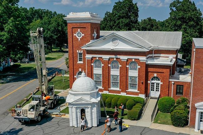 Edgefield First Baptist, Historic Steeple