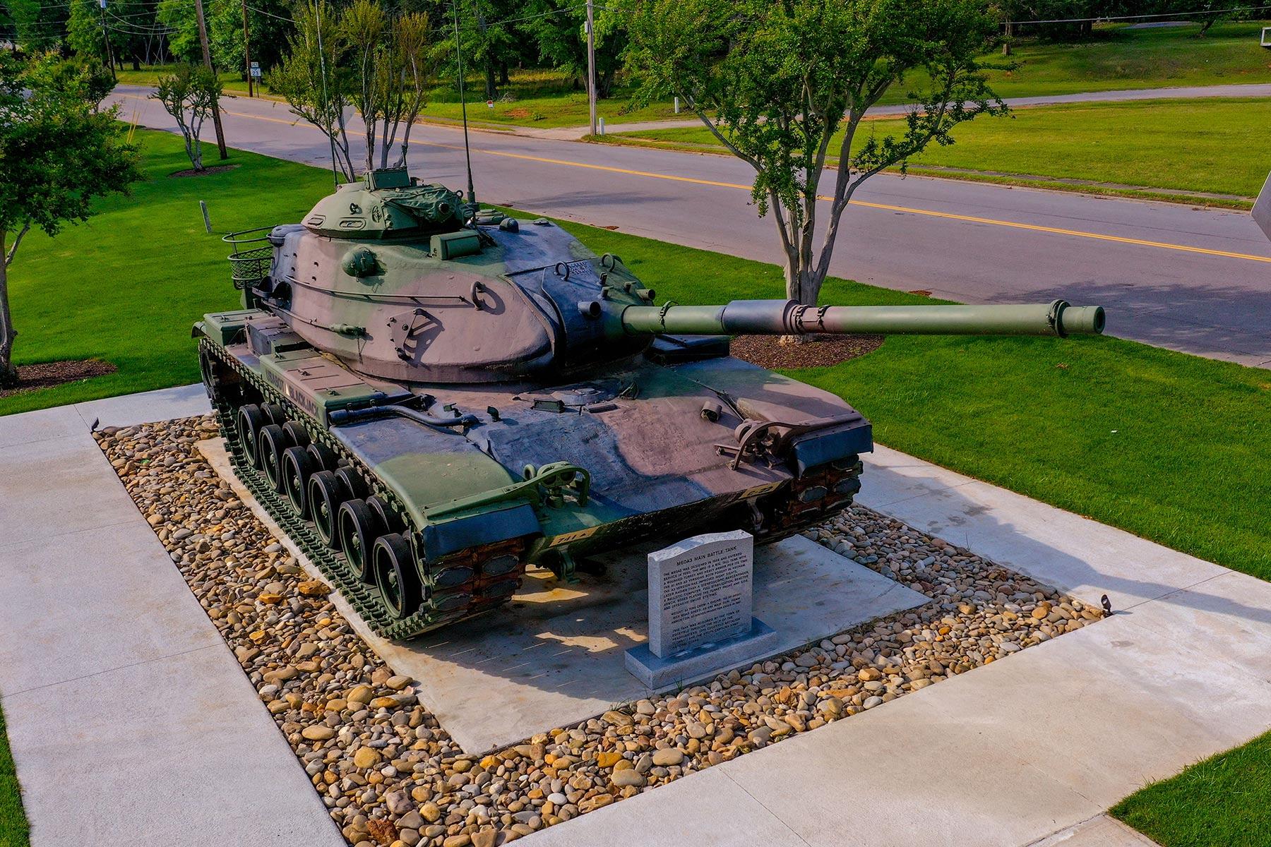 Edgefield Veterans Memorial Park Tank