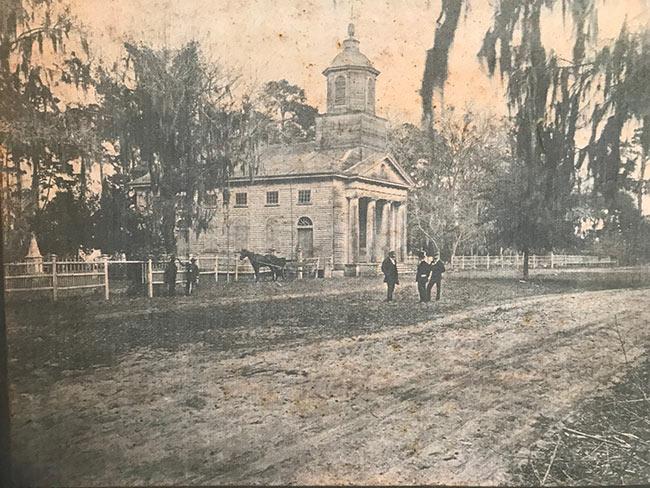 Edisto Presbyterian Church Historic View