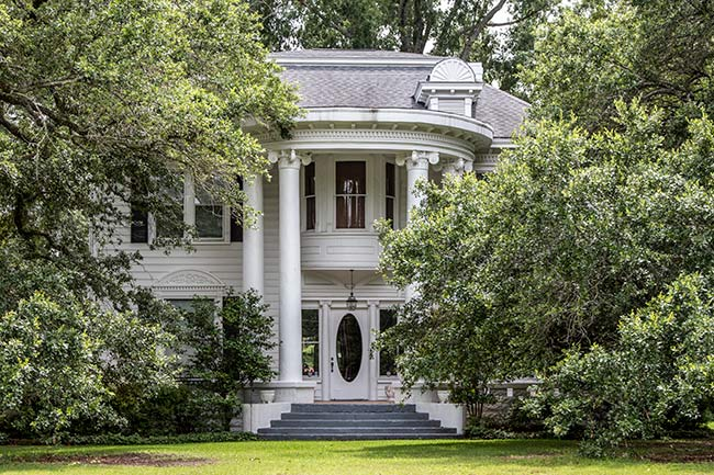 Front of Edward Wimberly House