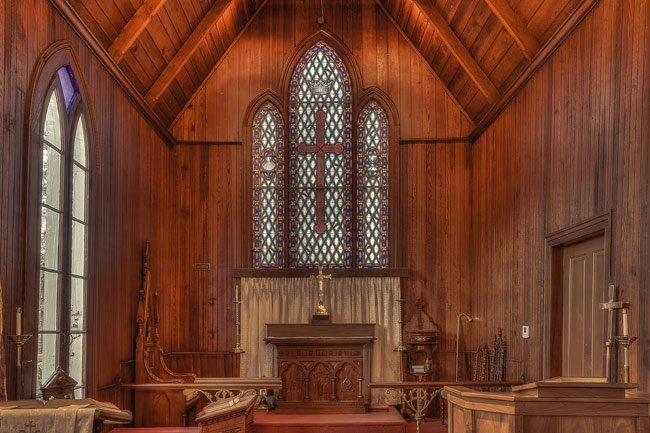 Episcopal Church of our Savior - Alter - Trenton, SC