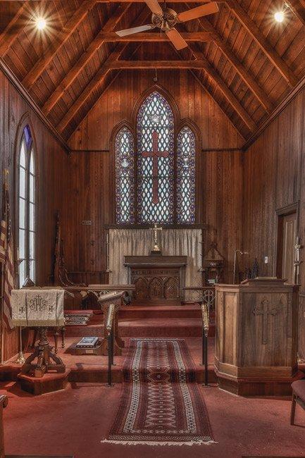 Episcopal Church of our Savior - Pulpit - Trenton, SC