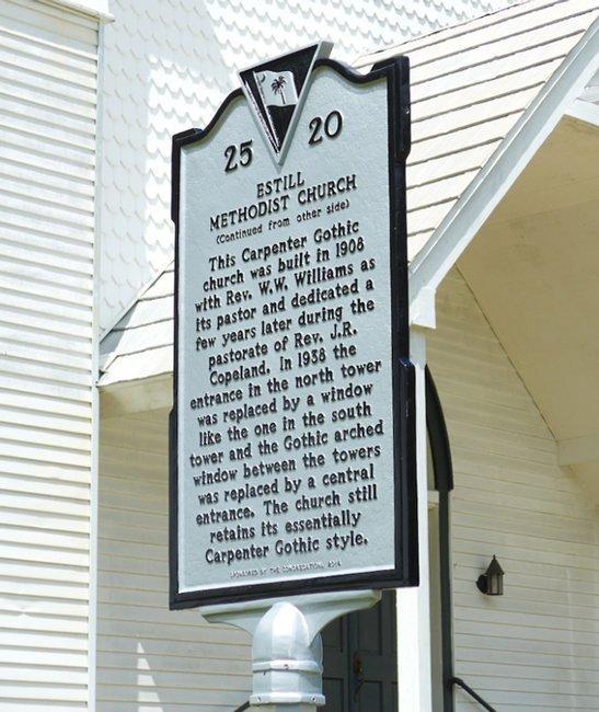 Estill Methodist Marker