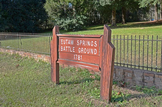Eutaw Springs Sign