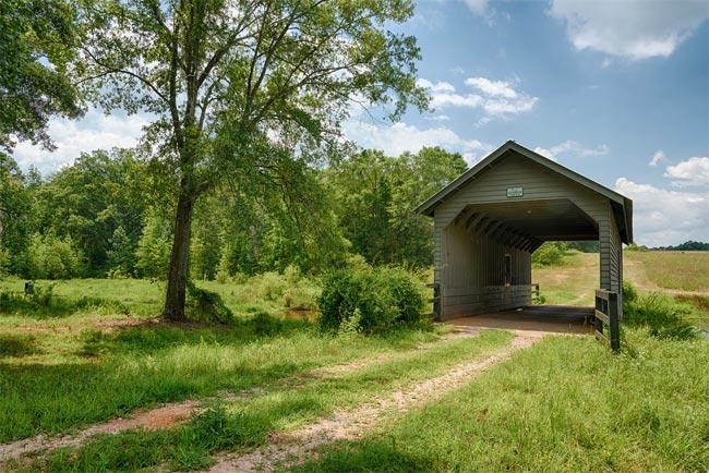 Evergreen Plantation Bridge