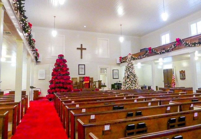 Fairview Presbyterian Church Interior