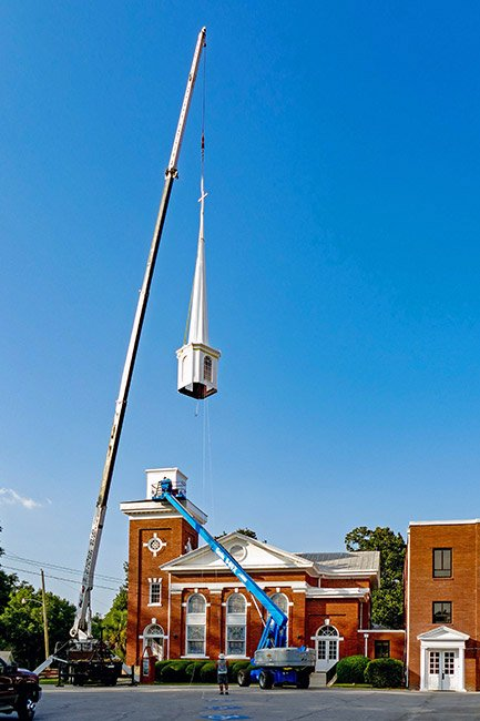 First Baptist Edgefield, Steeple Replacement