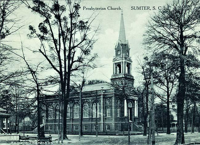 First Presbyterian Church Postcard