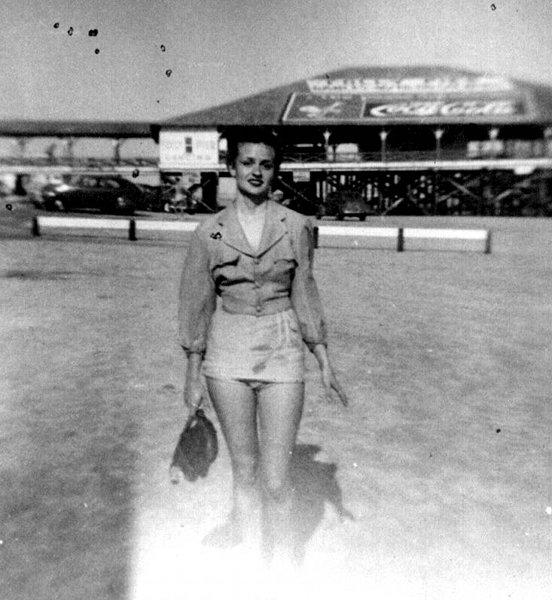 Folly Beach Pier in 1950