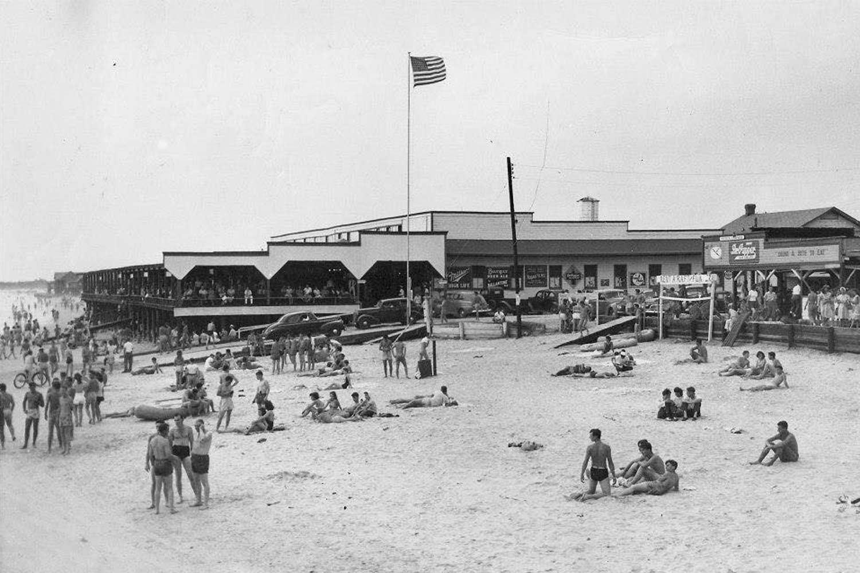 Folly Pavilion, 1940s