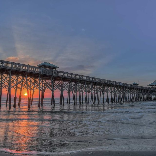 Folly Pier in Charleston, SC