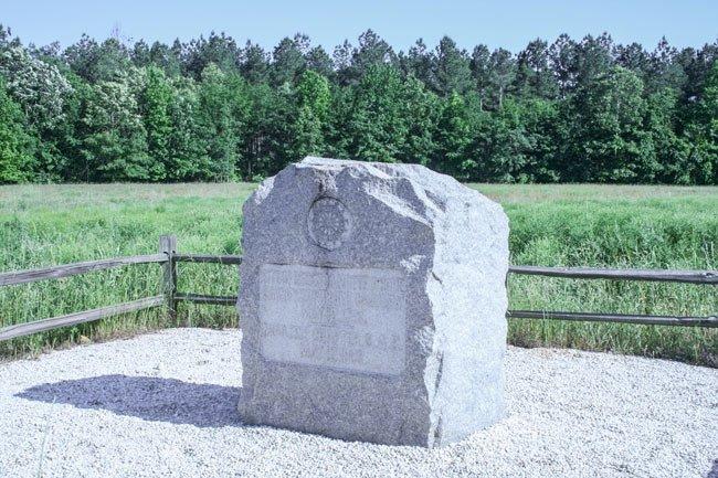 Fort Motte Battle Site Marker