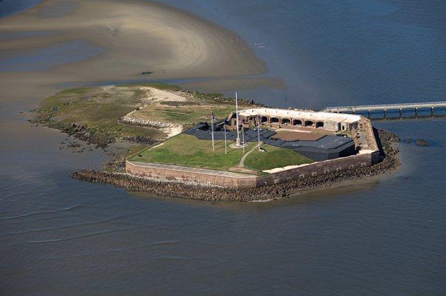 Fort Sumter Aerial