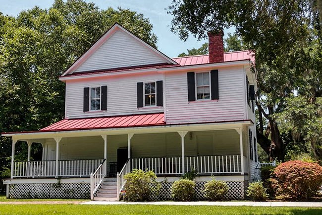 Frampton Plantation Main House