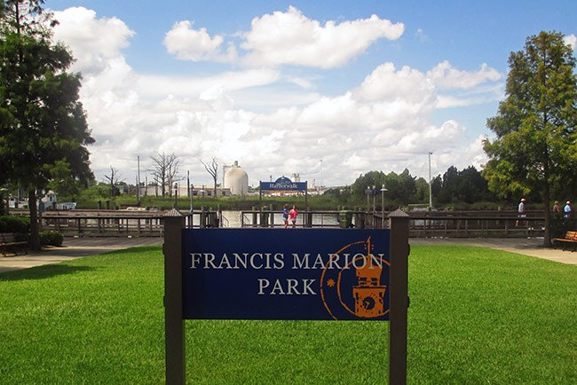 Francis Marion Park in Georgetown