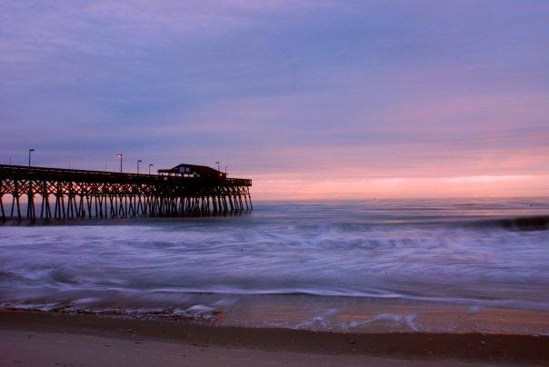 Garden City Pier during Sunrise