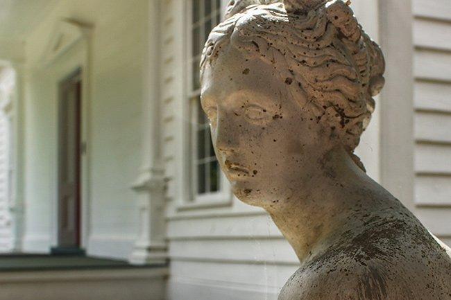 Garden Statue at Sunnyside