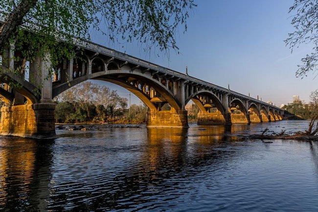 Gervais Bridge Columbia