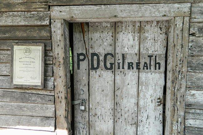 Gilreath's Mill Door