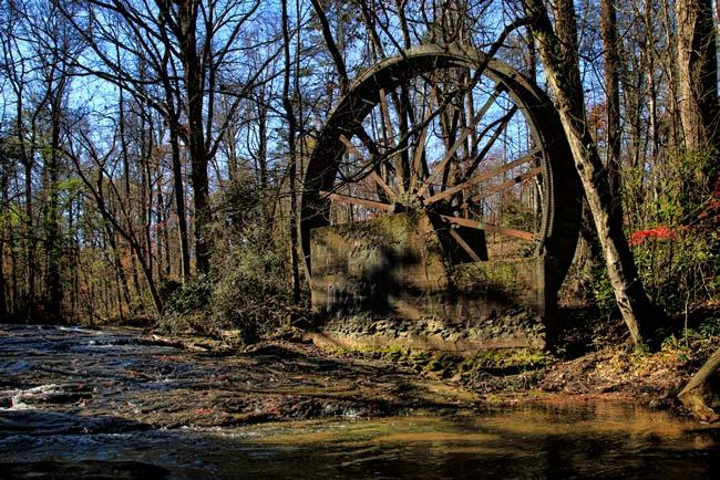 Gilreath Mill Waterwheel Greer