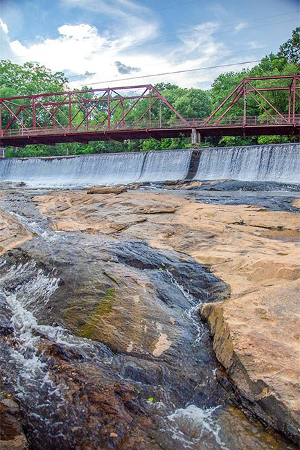 Glendale Shoals Spillway and Bridge
