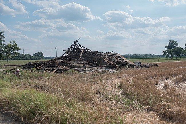 Govan Farm Building, Torn Down