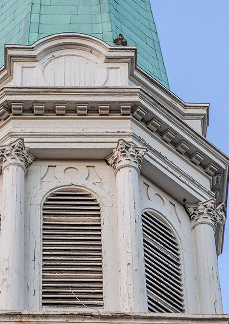 Grace Church Steeple, Greenville