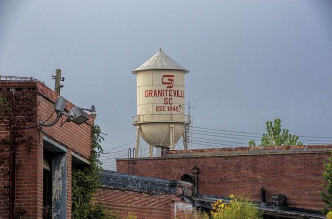Graniteville Mill Water Tower