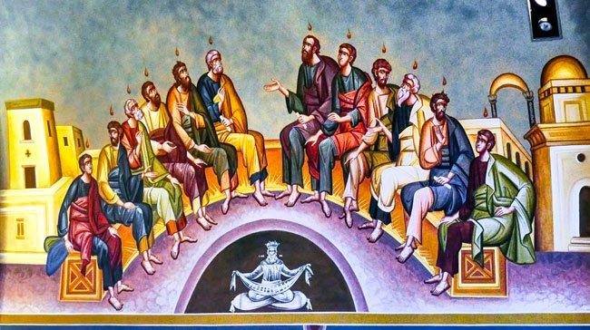 Greek Orthodox Columbia Interior Iconography