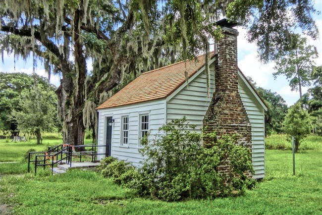 Grove Plantation Slave Cabin