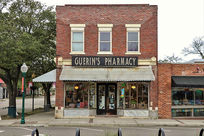 Guerin's Pharmacy Facade, Summerville