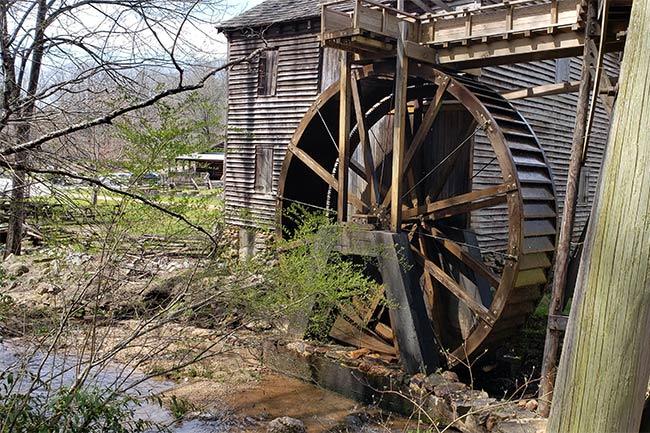 Hagood Mill Water Wheel