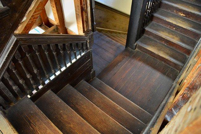 Hampton Plantation Stairway