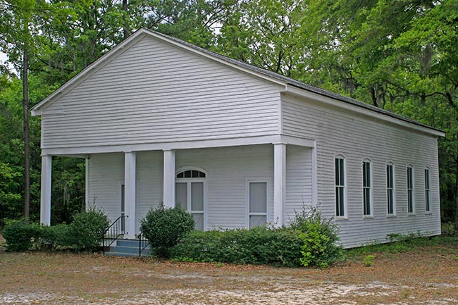 Harmony Baptist Church in Fairfax, SC